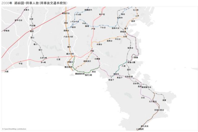 路線図+駅