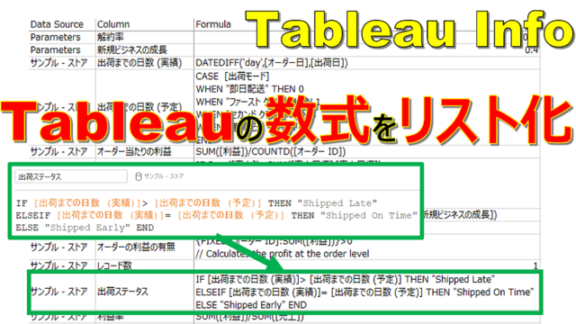 TableauInfo
